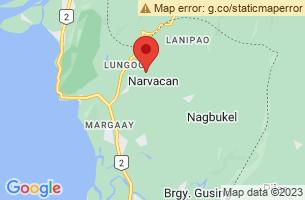 Map of Narvacan, Narvacan Ilocos Sur