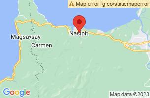 Map of Nasipit, Nasipit Agusan del Norte