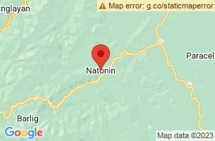 Map of Natonin, Natonin Mountain Province