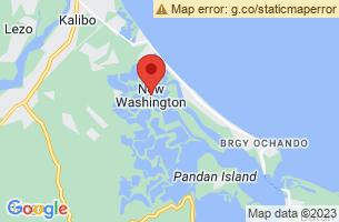 Map of New Washington, New Washington Aklan