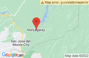 Map of Norzagaray, Norzagaray Bulacan
