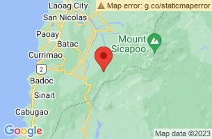 Map of Nueva Era, Nueva Era Ilocos Norte