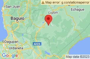 Map of Nueva Vizcaya,