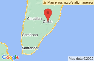 Map of Sumilon Island and Sanctuary, Oslob Cebu