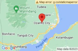 Map of Ozamiz City, Ozamiz City Misamis Occidental
