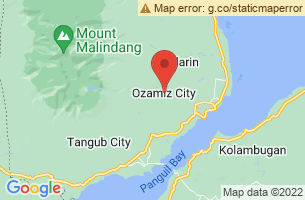 Map of Bukagan Hill Bell Tower, Ozamiz City Misamis Occidental