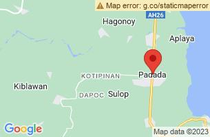 Map of Padada, Padada Davao del Sur