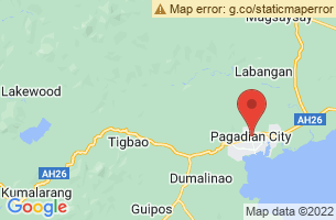 Map of Pagadian City, Pagadian City Zamboanga del Sur