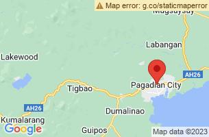 Map of Pulacan Falls, Pagadian City Zamboanga del Sur