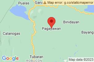 Map of Pagayawan, Pagayawan Lanao del Sur