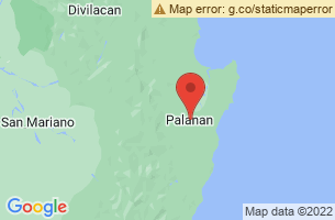 Map of Dicotcotan Beach, Palanan Isabela