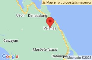Map of Palanas, Palanas Masbate