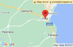 Map of Palo, Palo Leyte
