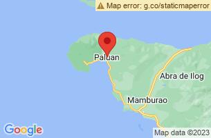 Map of Paluan, Paluan Occidental Mindoro