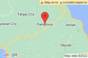 Map of Pamplona, Pamplona Cagayan
