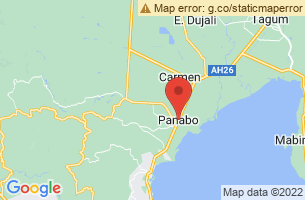 Map of Panabo City Mariculture Park, Panabo City Davao del Norte
