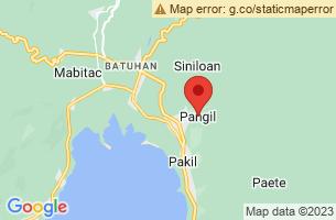 Map of Buntot Palos Falls, Pangil Laguna