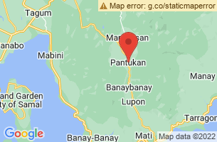 Map of Mt. Kampalili Puting Bato Reserve, Pantukan Compostela Valley