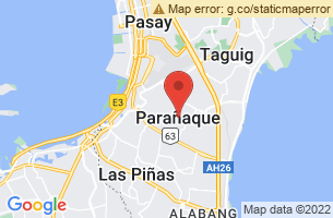 Map of Las Pinas-Paranaque, Paranaque Manila