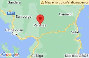 Map of Paranas, Paranas Samar