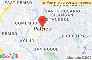 Map of Pateros, Pateros Manila