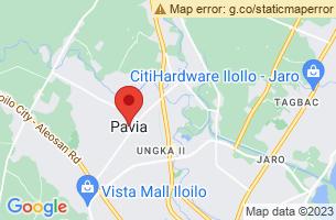 Map of Pavia, Pavia Iloilo