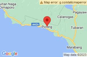 Map of Picong, Picong Lanao del Sur