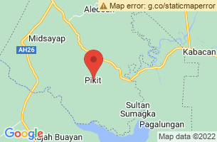 Map of Pikit, Pikit Cotabato