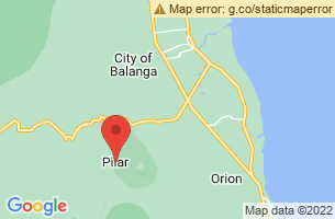 Map of Pilar, Pilar Bohol