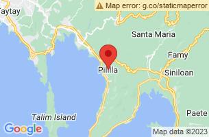 Map of Pililla, Pililla Rizal