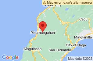 Map of Pinamungajan, Pinamungajan Cebu