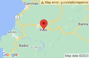Map of Pinili, Pinili Ilocos Norte