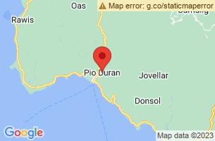 Map of Pio Duran, Pio Duran Albay