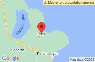 Map of Pola, Pola Oriental Mindoro