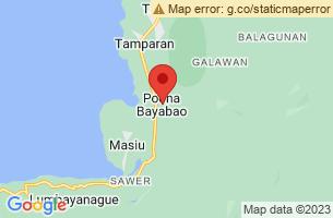 Map of Poona Bayabao, Poona Bayabao Lanao del Sur