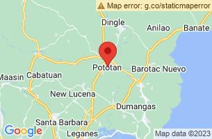 Map of Pototan, Pototan Iloilo