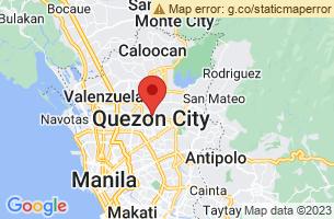 Map of Quezon City, Quezon City Manila
