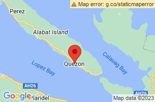 Map of Quezon,