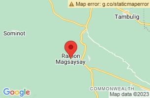 Map of Ramon Magsaysay, Ramon Magsaysay Zamboanga del Sur