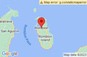 Map of Romblon,