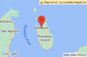 Map of Romblon Island, Romblon Romblon