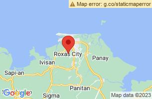 Map of Mantalinga Island, Roxas City Capiz