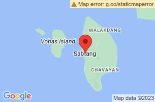 Map of Sabtang, Sabtang Batanes