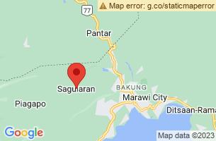 Map of Saguiaran, Saguiaran Lanao del Sur