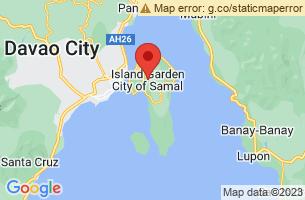 Map of Samal City, Samal City Davao del Norte