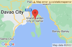 Map of Samal, Samal Bataan