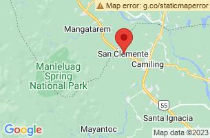 Map of San Clemente, San Clemente Tarlac