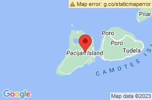 Map of Bakhaw Beach, San Francisco Cebu
