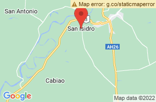 Map of San Isidro, San Isidro Surigao del Norte