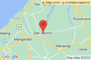 Map of Ticao Island, San Jacinto Masbate